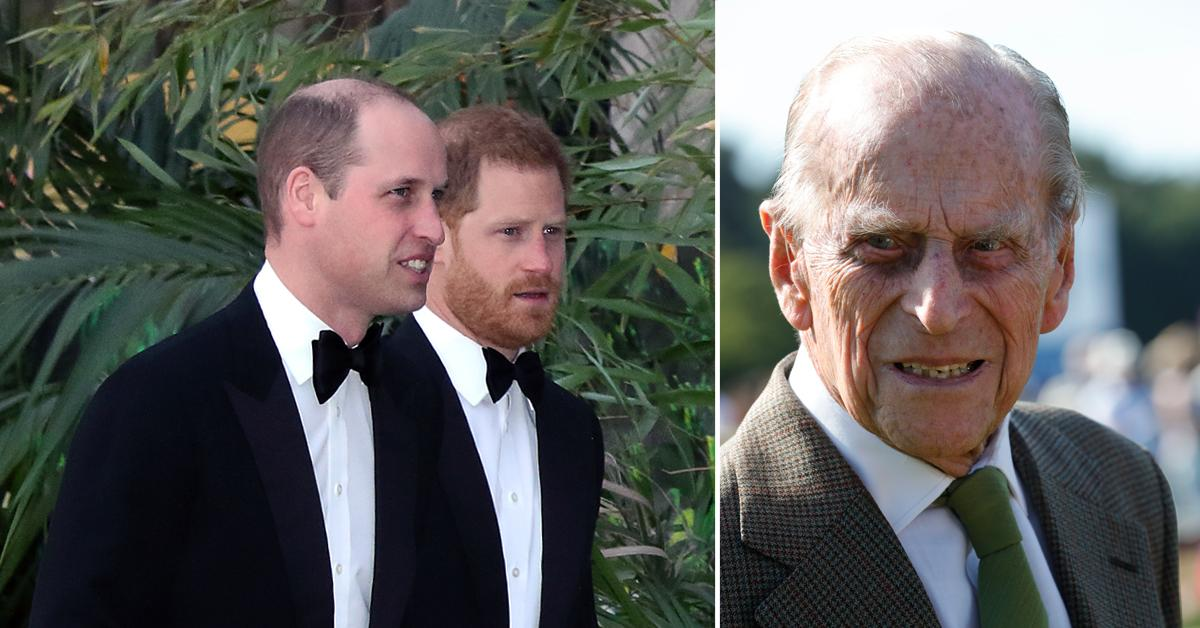 prince philip funeral prince william prince harry pf