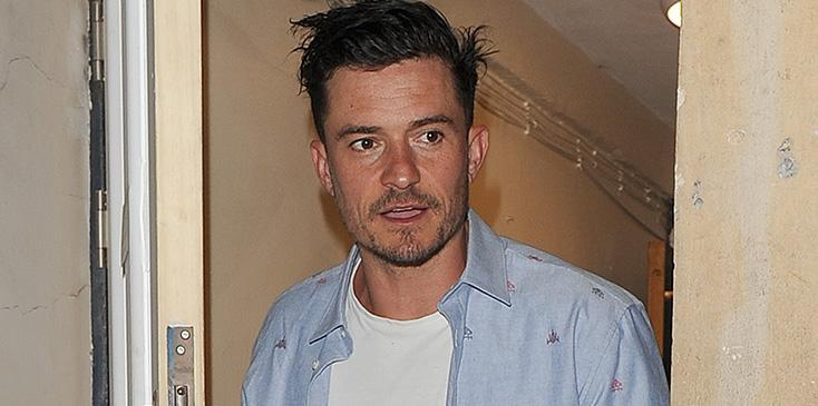 Orlando bloom curses audience member out at play london