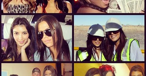 Kim Kardashian Khloe Kardashian