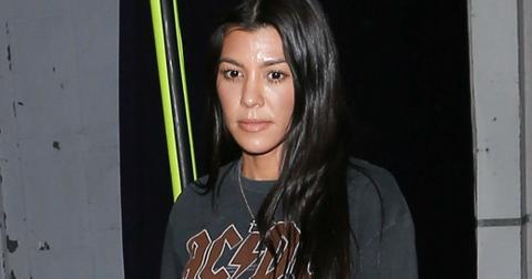 Kourtney Kardashian Shows Skin Stomach At Church Photos hero