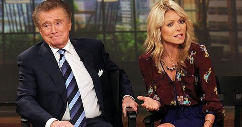 Regis philbin doesnt talk to kelly ripa offended he left show hr