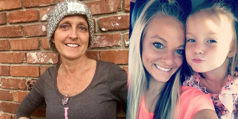 Mackenzie mckee mother angie cancer battle daughter school photos