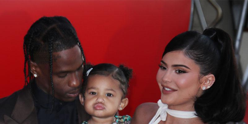 Kylie Jenner & Travis Scott Reunite At Disney World With Stormi