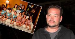Jon Gosselin was sen leaving BOA Restaurant in West Hollywood, CA