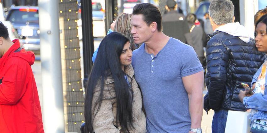 John Cena and Shay Sariatzadeh