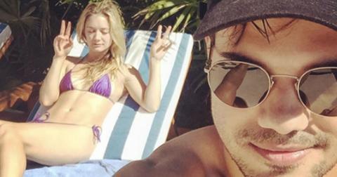 Billie lourd bikini photos taylor lautner