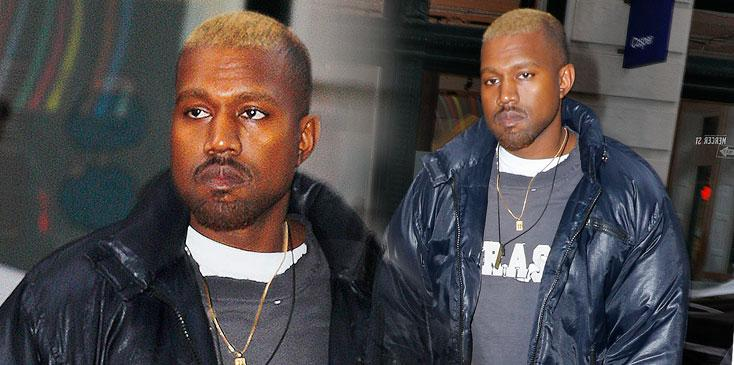 Kanye west hospitalized blonde hair nyc ok hero