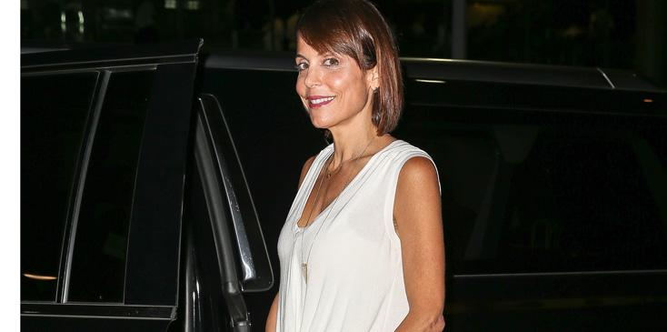 Bethenny Frankel spotted leaving the Alice Tully Hall in New York City