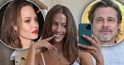 [Brad Pitt]'s New GF [Nicole Poturalski] Shares Cryptic Message