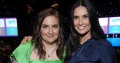 Demi Moore and Lena Dunham