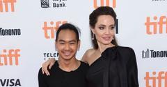 Angelina & son Maddox