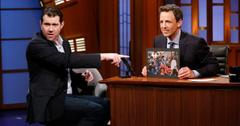 Billy Eichner and Seth Meyers