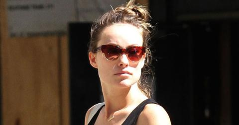 Pregnant Olivia Wilde & Jason Sudeikis Out For Lunch In NYC