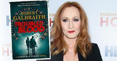 JK Rowling's New Book Under Fire For Cross-Dressing Serial Killer