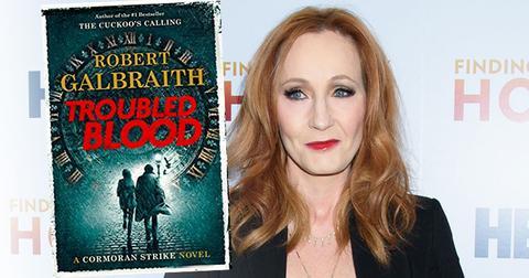 JK Rowling's New Book Under Fire For Cross-Dressing Serial Killer