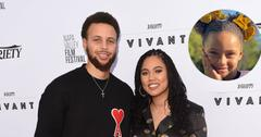 Ayesha And Steph Curry On Red Carpet Riley Curry Inset