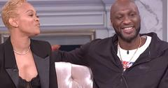 Lamar Odom Sabrina Parr Talk Marriage 'The Real'