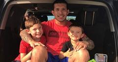 Javi marroquin instagram photos sons lincoln isaac