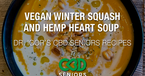 Dr. Igor's Vegan Winter Squash and Hemp Heart Soup Recipe