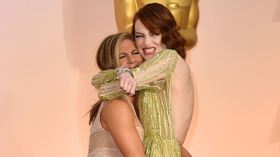 Jennifer Aniston, Emma Stone