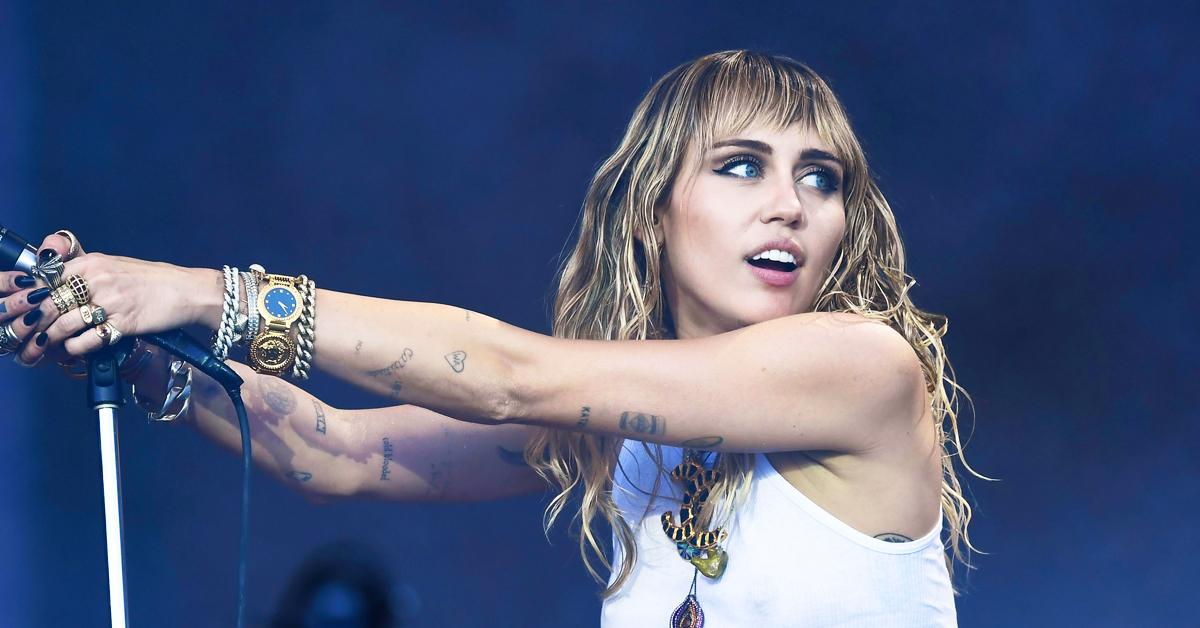 miley cyrus posts a selfie of her butt on instagram to her  million followers