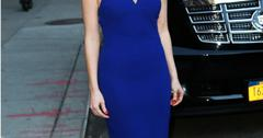 Jessica Chastain visits 'The Late Show with David Letterman' in NYC