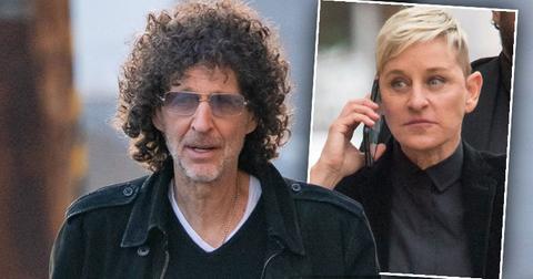 Howard Stern Advises Ellen DeGeneres To Change Her Image