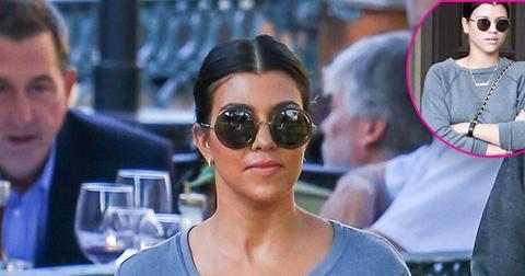 Sofia richie kourtney kardashian twinning
