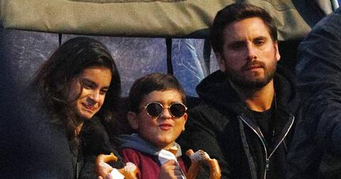 Scott disick mason outing