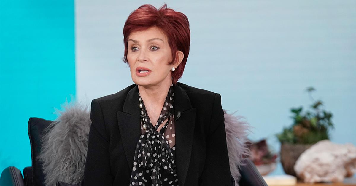sharon osbourne the talk return meltdown