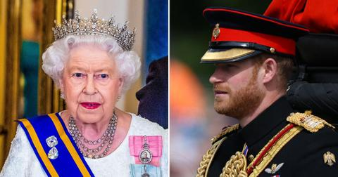 Prince Harry Was Furious, Insider Claims, After Queen Elizabeth II Stripped Him Of His Military Honours