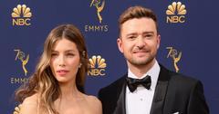 Jessica Biel And Justin Timberlake On Red Carpet