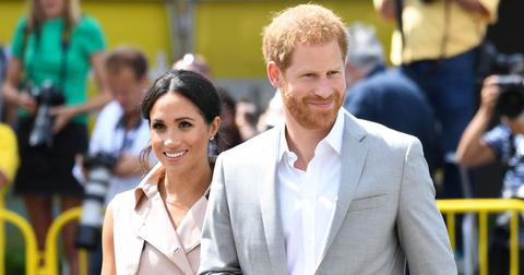 Meghan Markle Smiles Despite Dads Claims Shes Terrified PP