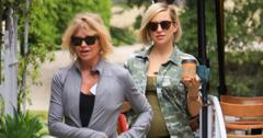 Goldie Hawn and Kate Hudson out and about