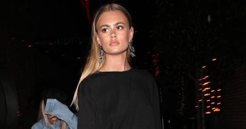 Rumored to be dating Scott Disick, Ella Ross parties at TAO night club with her friends