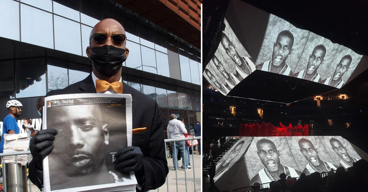memorial service for dmx at barclays center in brooklyn