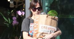 Dakota johnson grocery shops in gucci pics