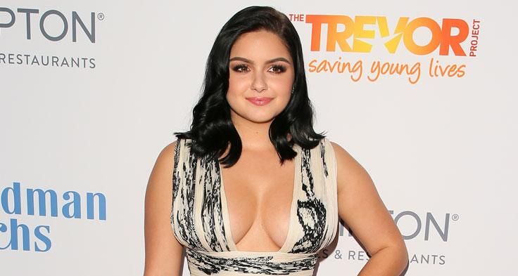 Topless Ariel Winter Breast Reduction Scars