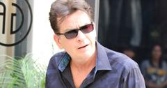 EXCLUSIVE: Charlie Sheen After Getting His Haircut in Los Angeles