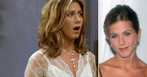 friends jennifer aniston rachel green habit clears throat video pf