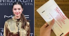 drivers license singer olivia rodrigo gets a parking ticket