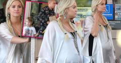 Pregnant ashlee simpson evan ross mothers day