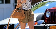 Naomi Watts seen doing last minute shopping in the Hamptons on July 4 in Long Island, New York