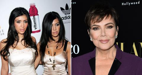 kim kourtney kardashian scared kris jenner pf