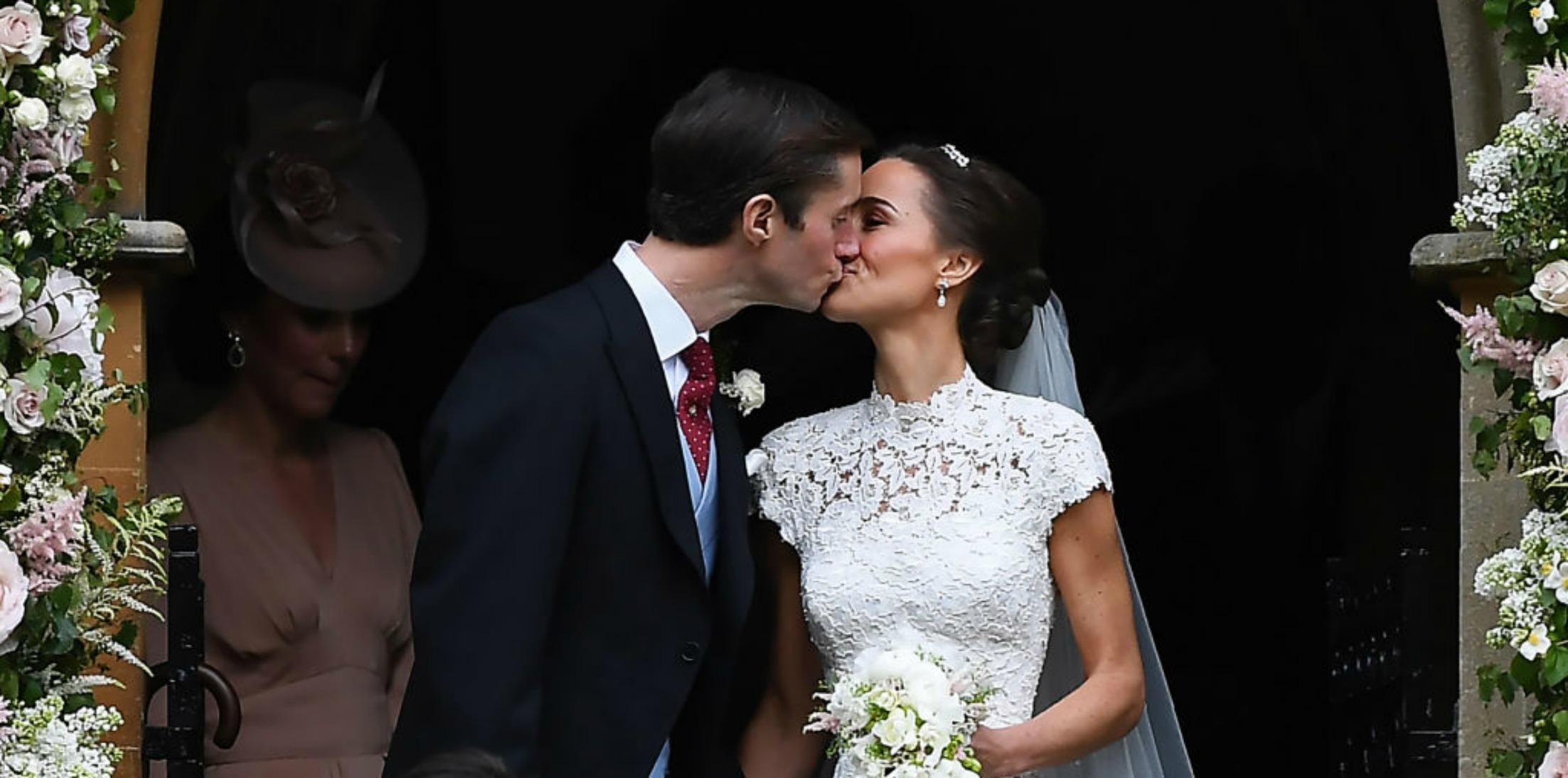 Pippa middleton wedding dress photos husband h
