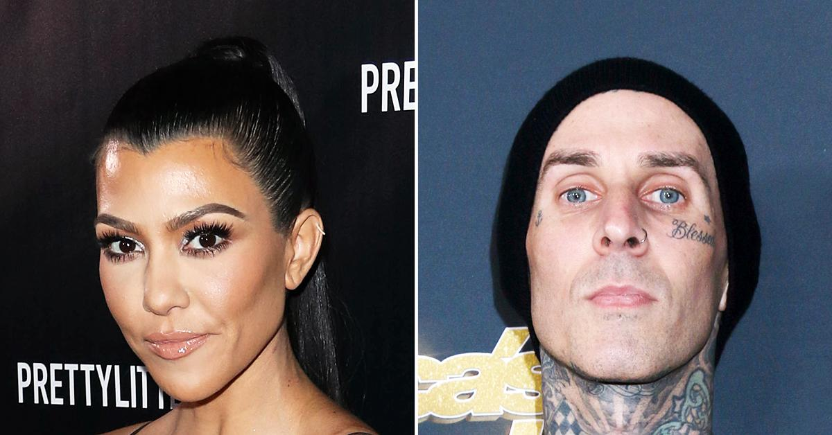 kourtney kardashian travis barker engagement babies relationship