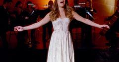 Glee lea michele o holy night