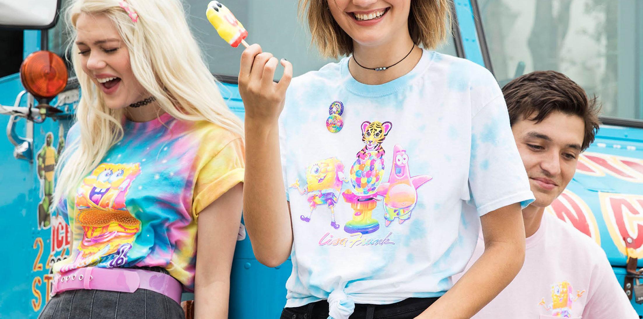 Lisa frank spongebob collection comic con