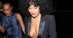 Tracee ellis ross drake party wide