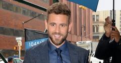 Nick Viall was met with a lot of fan enthusiasm arriving to AOL Live